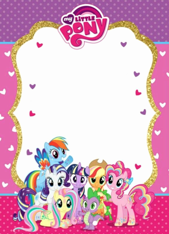 My Little Pony Invitation Ideas Fresh Date 8 Apr 2018 Time 2pm Venue Marrybown at Jusco