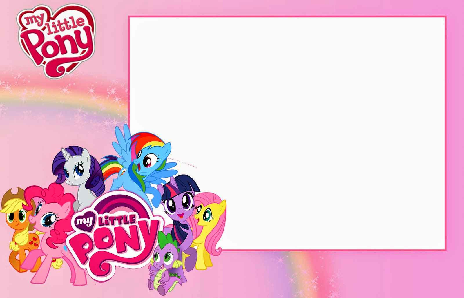 My Little Pony Invitation Ideas Luxury My Little Pony Birthday Invitations