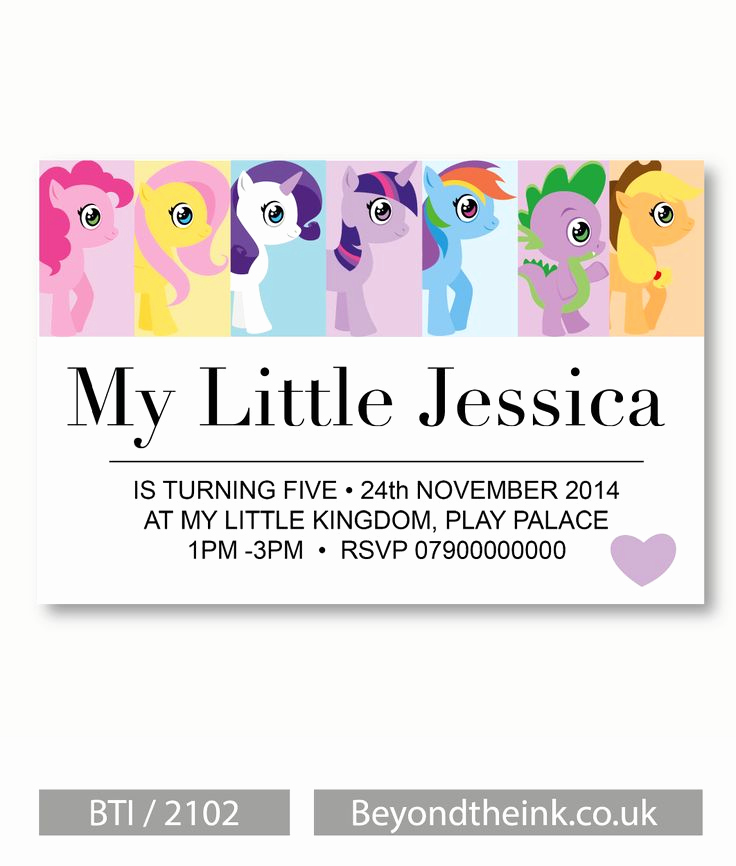 My Little Pony Invitation Ideas Unique Best 25 My Little Pony Invitations Ideas On Pinterest