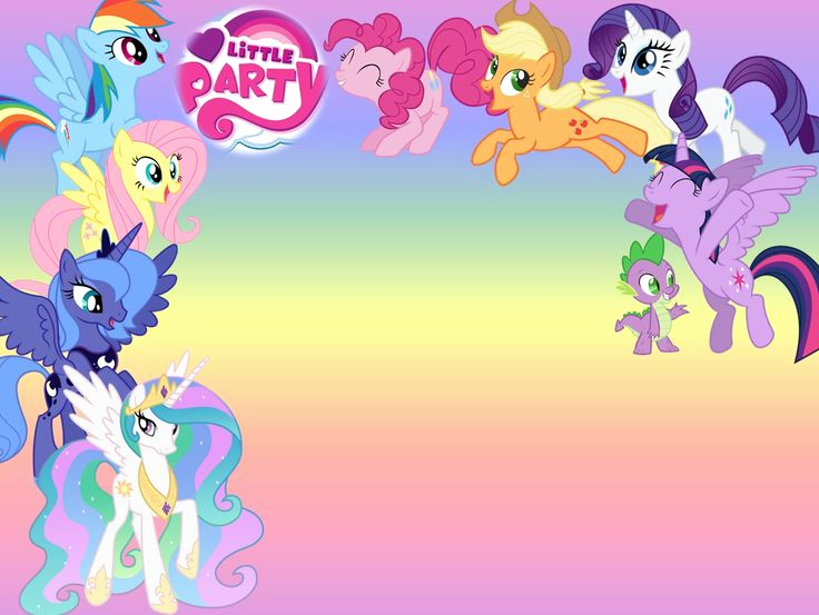 My Little Pony Invitation Template Beautiful 25 Best Ideas About My Little Pony Invitations On