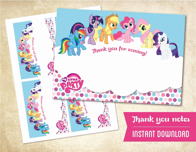 My Little Pony Invitation Template Lovely My Little Pony Invitation Free Printable