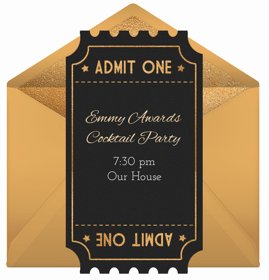 National Night Out Invitation Template Awesome Host An Emmy Party to Kickoff the New Tv Season