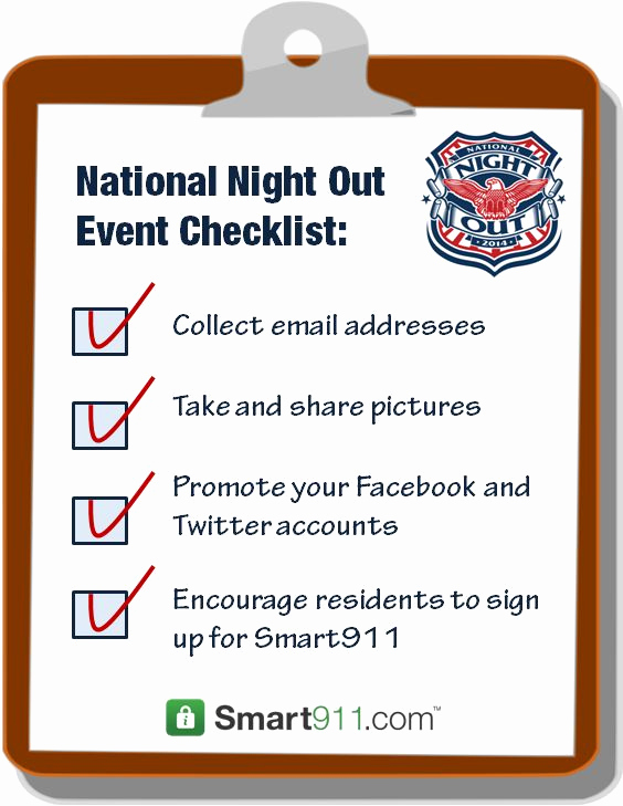National Night Out Invitation Template New 28 Best National Night Out Party Ideas Images On Pinterest
