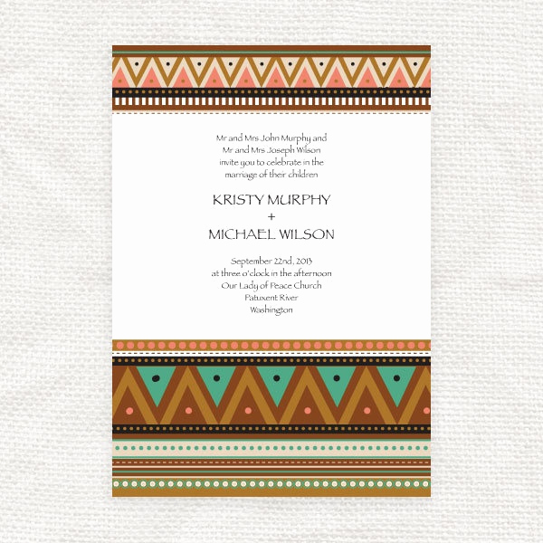 Native American Wedding Invitation Beautiful 1000 Images About Native American Tribal theme On