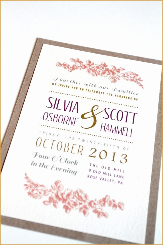 native american wedding invitations