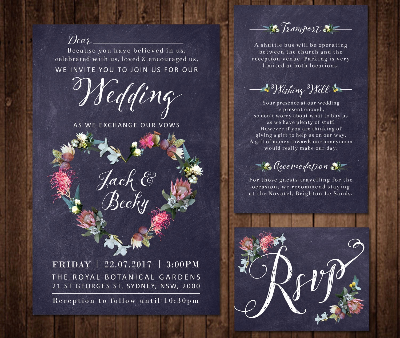 Native American Wedding Invitation Elegant Native Flowers Engagement Wedding Invitation