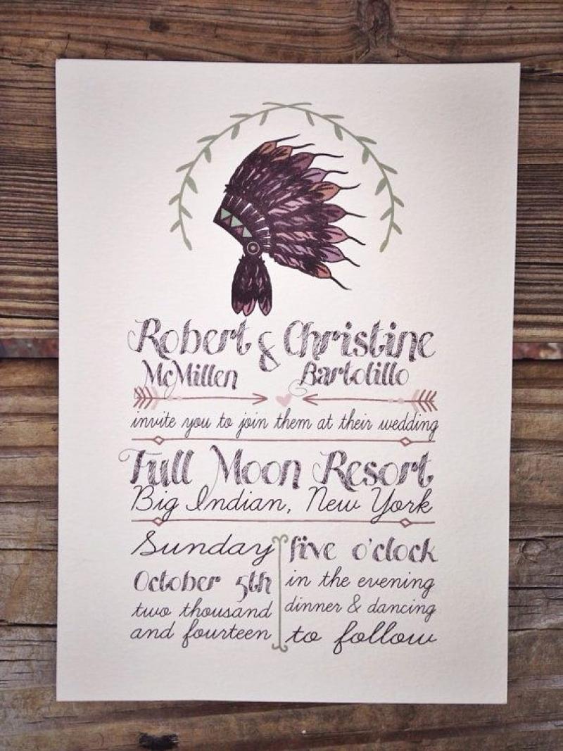Native American Wedding Invitation New Best Native American Wedding Invitations Wedding Ideas