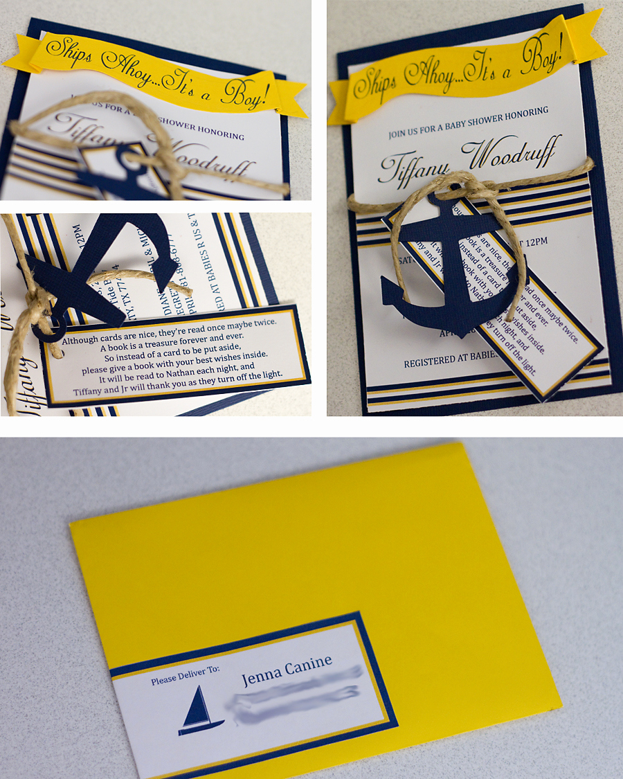 Nautical Baby Shower Invitation Template Elegant Nautical themed Baby Shower Invitations