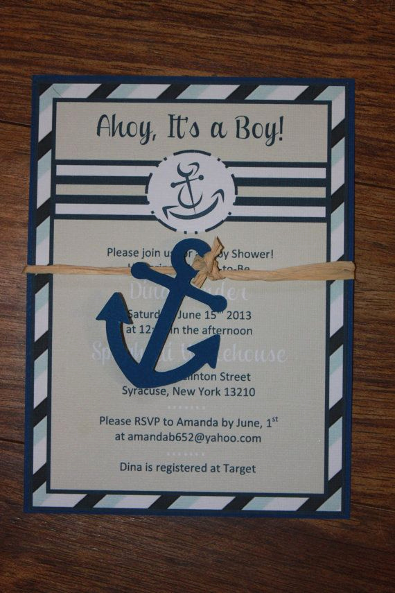 Nautical theme Baby Shower Invitation Awesome 25 Best Ideas About Sailor Baby On Pinterest