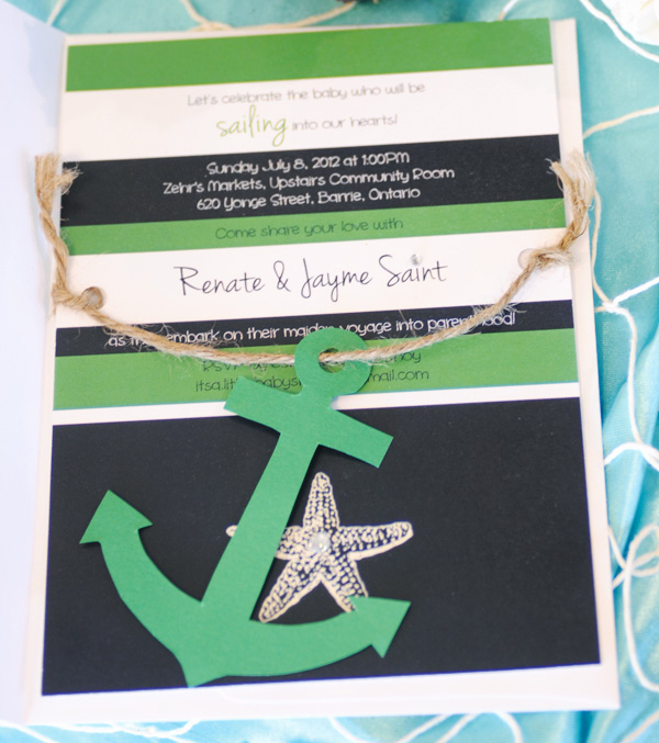 Nautical theme Baby Shower Invitation New Nautical themed Baby Shower Invitations