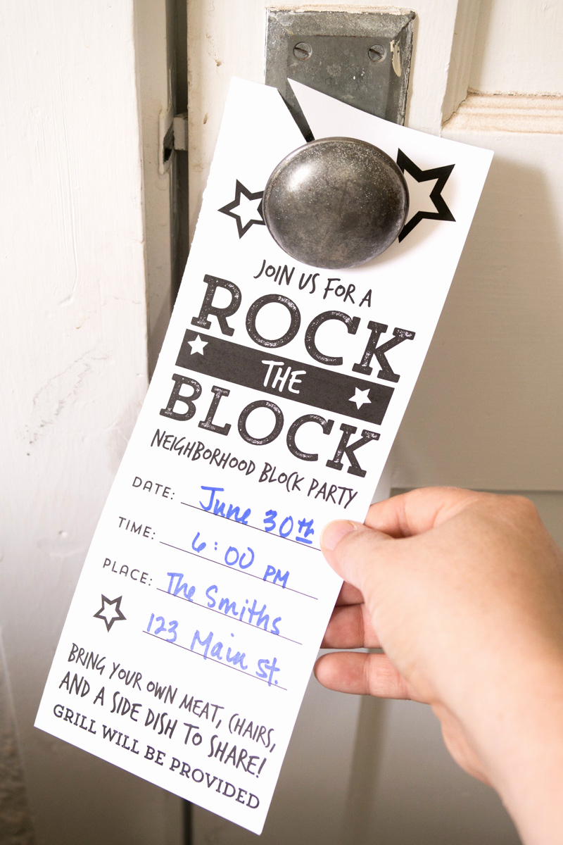 Neighborhood Block Party Invitation Beautiful Neighborhood Block Party Invitations