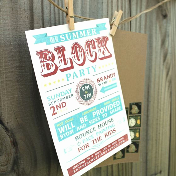 Neighborhood Block Party Invitation Luxury 25 Best Ideas About Block Party Invites On Pinterest