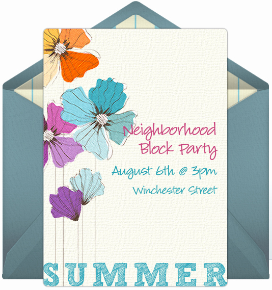 Neighborhood Block Party Invitation New Ways to Get to Know Your Neighbors