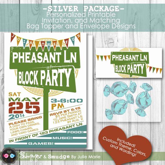 Neighborhood Party Invitation Wording Beautiful Pinterest • the World's Catalog Of Ideas
