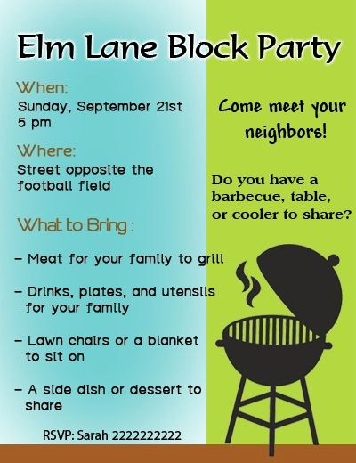 Neighborhood Party Invitation Wording New Simple Tips for Throwing the Most Amazing Block Party Ever