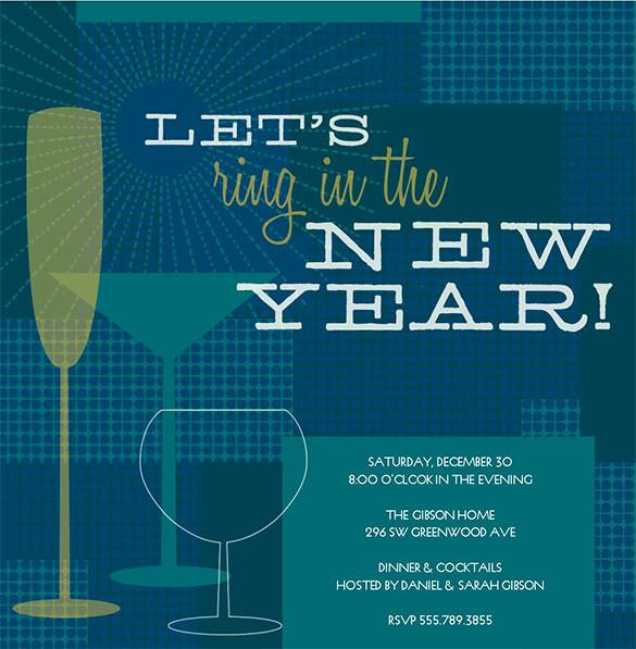 New Year Invitation Template Fresh 28 New Year Invitation Templates – Free Word Pdf Psd