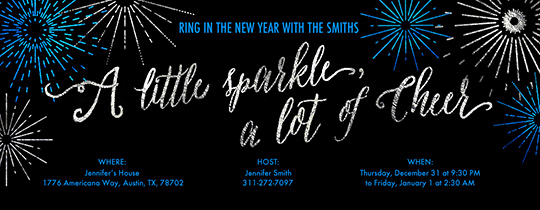 New Year Invitation Template Fresh Free New Year S Eve Party Invitations