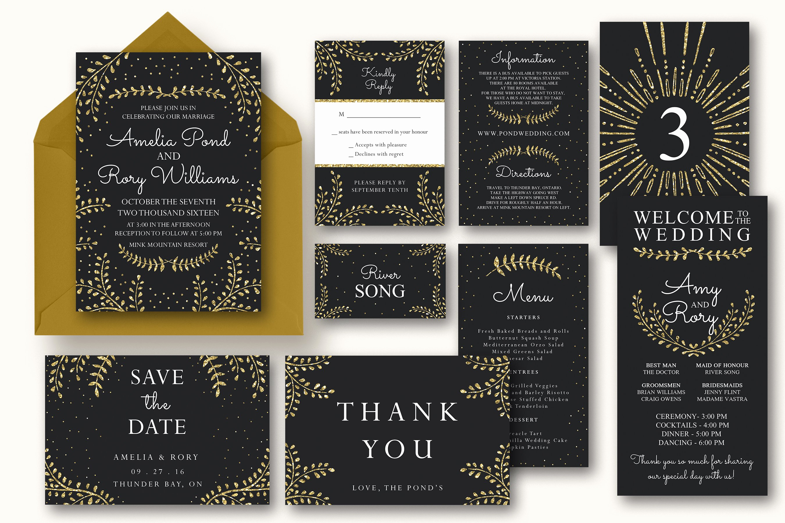 New Year Invitation Template Inspirational New Years Wedding Invitation Suite Invitation Templates