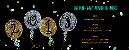 New Year Invitation Template New New Year S Eve Party Invitations