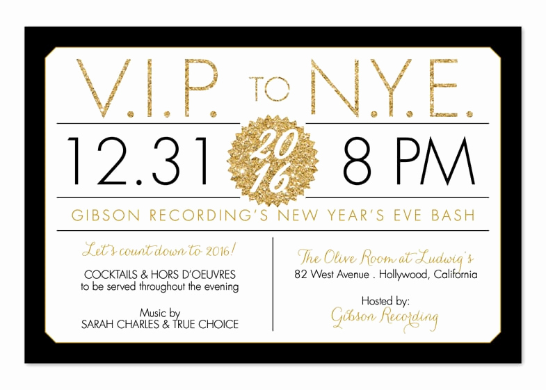 New Year Invitation Wording Lovely Funny New Years Eve Party Invitation Wording