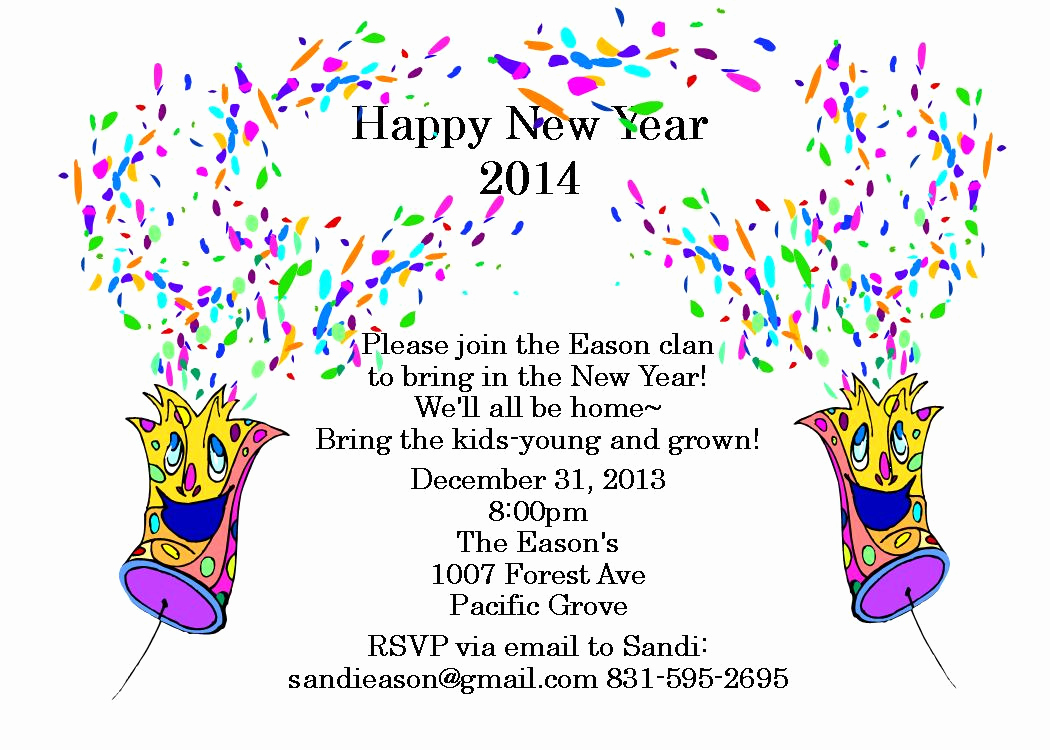New Year Party Invitation Awesome New Year S Eve Party Invitations 2016