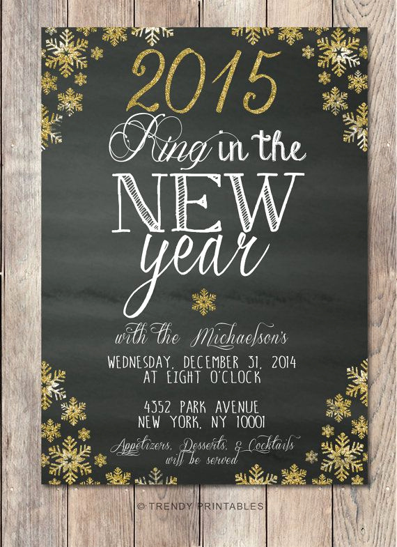 New Year Party Invitation Inspirational Repin This Invite and Take Off Your order at Trendy