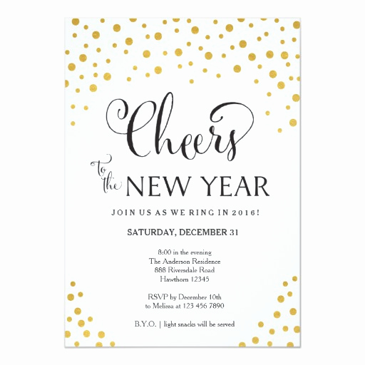 New Year Party Invitation New New Year S Eve Party Invitation New Year S Party
