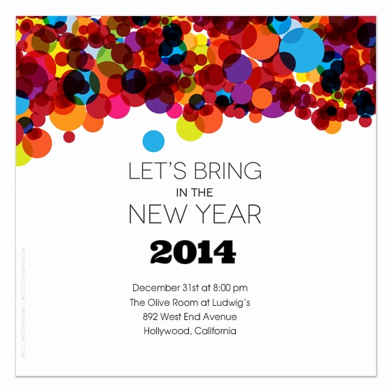 New Year Party Invitation Template New New Year S Eve Invitation