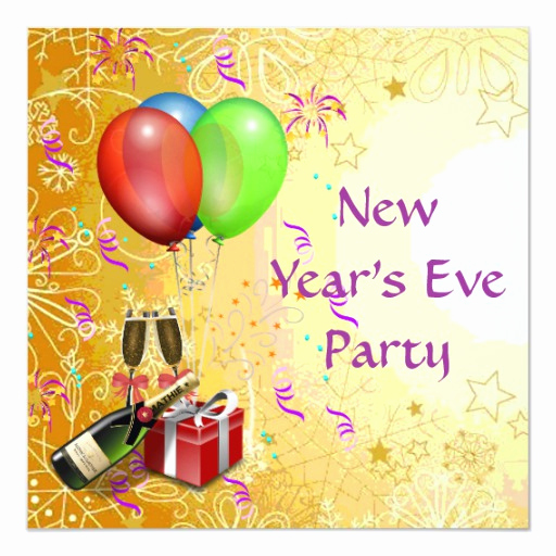 New Year Party Invitation Wording Luxury New Year S Eve Party Invitation