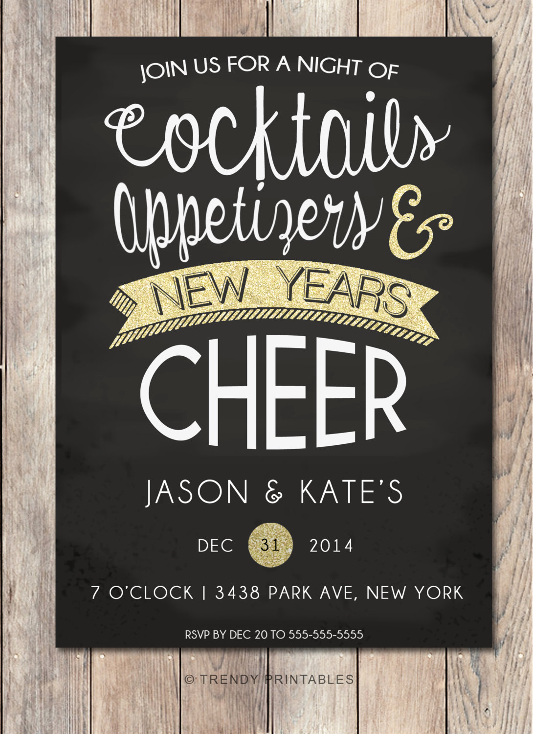 New Year Party Invitation Wording New New Years Eve Party Invitation New Years Party by