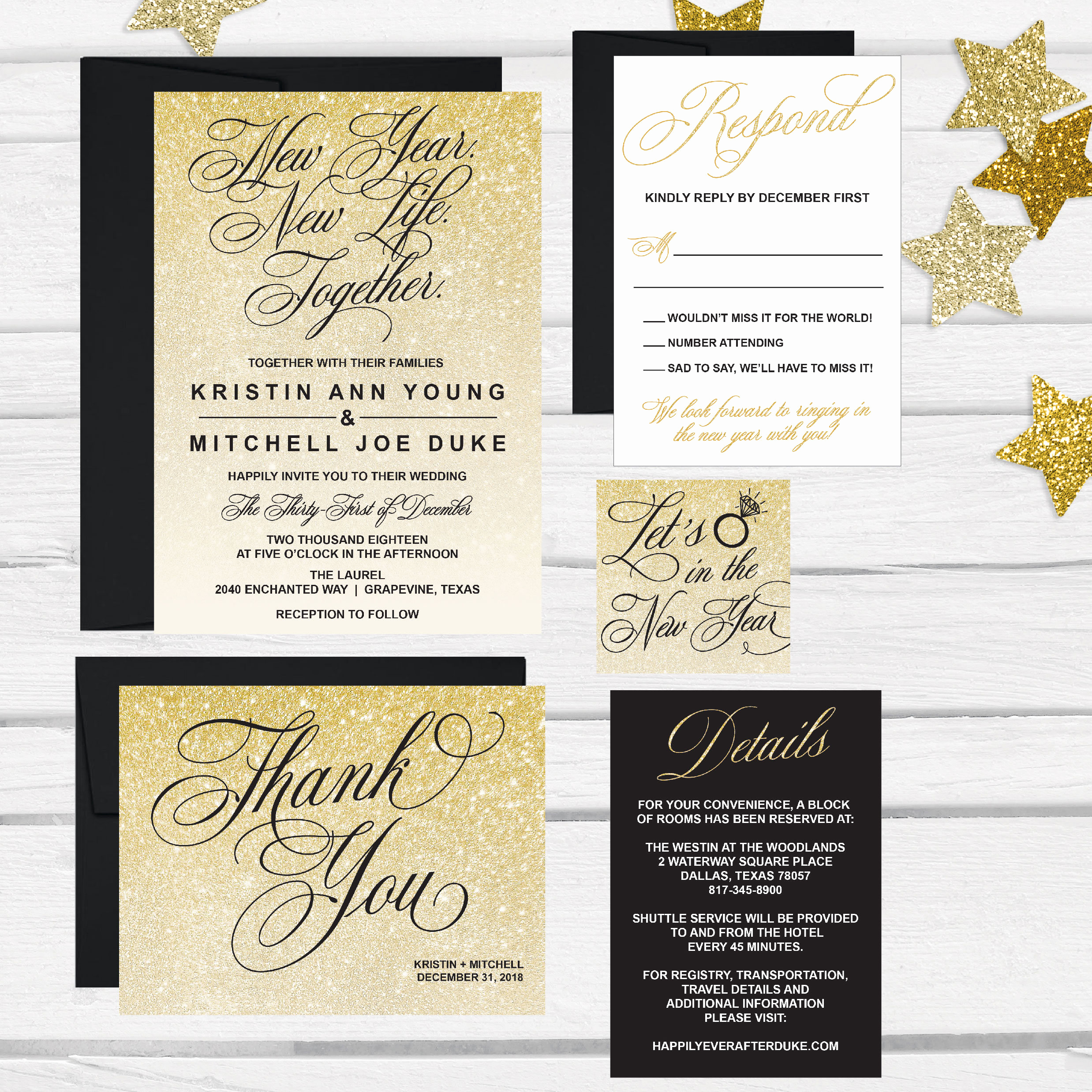 New Years Eve Invitation Template Awesome Elegant New Years Eve Wedding Invitation Template Glitter