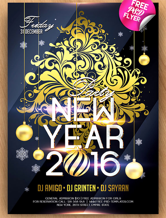 New Years Eve Invitation Template Inspirational 28 New Year Invitation Templates – Free Word Pdf Psd