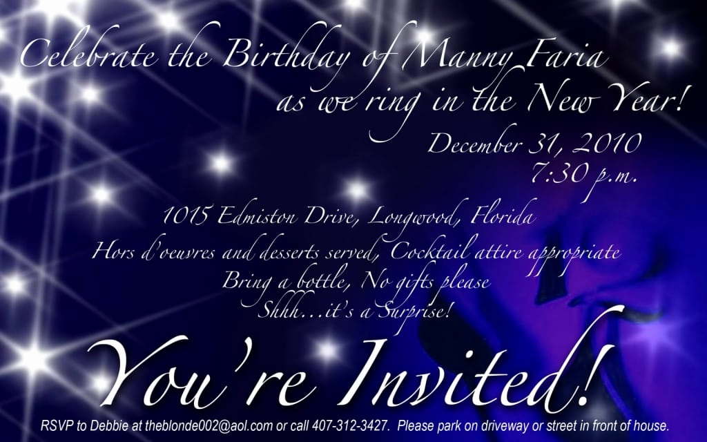 New Years Eve Invitation Template New New Years Eve Party Invitation