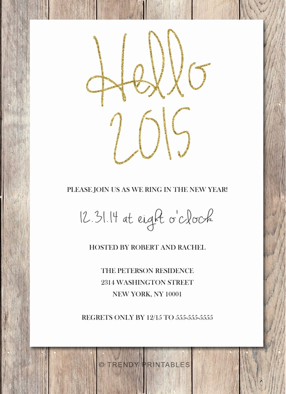 New Years Eve Invitation Templates Beautiful New Years Eve Party Invitation New Years by Trendyprintables