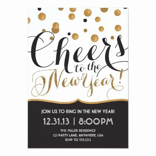 New Years Eve Invitation Templates Elegant New Year S Eve Party Invitation