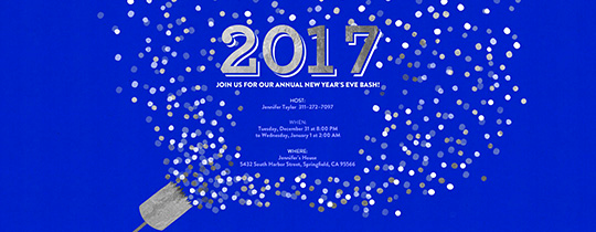 New Years Eve Invitation Templates Inspirational New Year S Eve Free Online Invitations