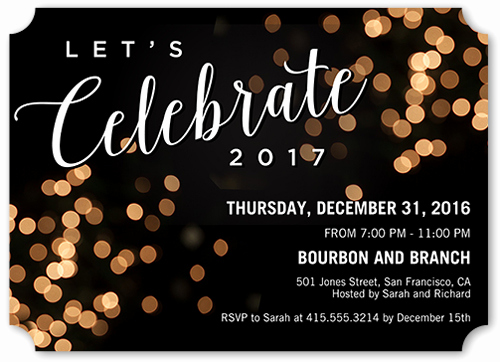 New Years Eve Invitation Templates Unique 18 Creative New Year S Eve Party themes