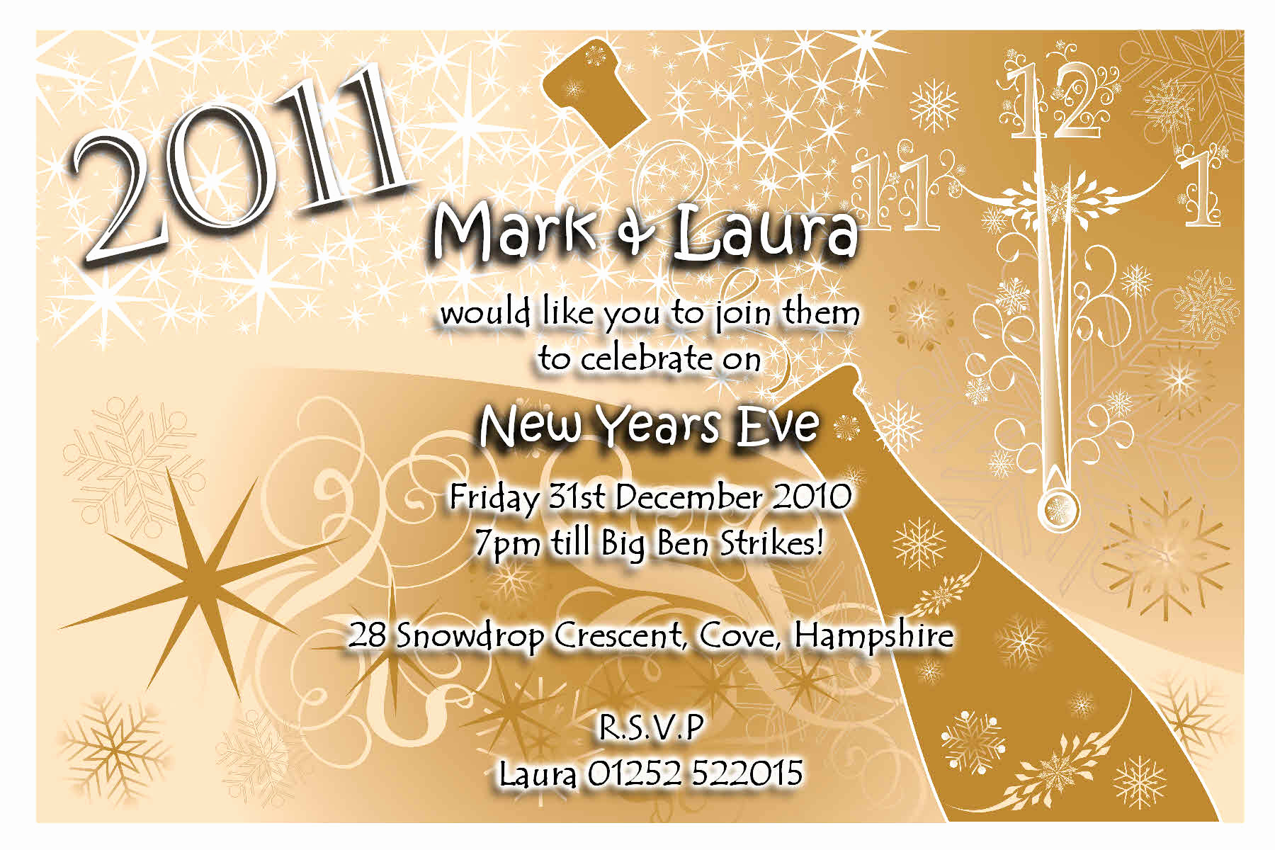 New Years Eve Invitation Wording Awesome New Year Invitation Wording Funny – Festival Collections