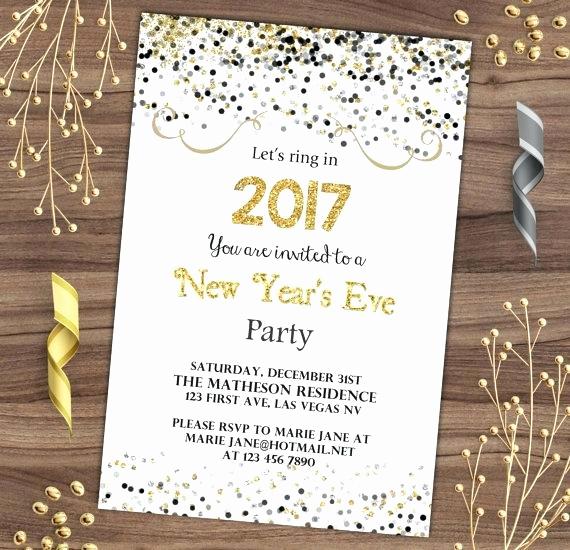 New Years Eve Invitation Wording Beautiful Nye Invitation – orgul Gbt
