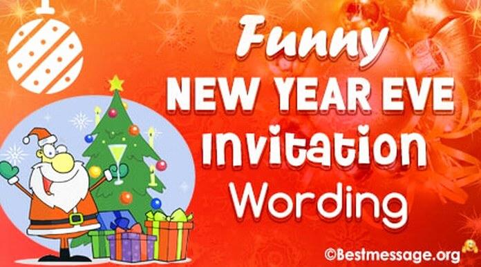 New Years Eve Invitation Wording Elegant Unique and Funny New Year's Eve Party Invitation Wordings