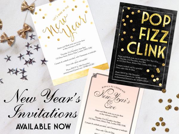 New Years Eve Invitation Wording Luxury Printable & Printed New Year S Eve Party Invitations