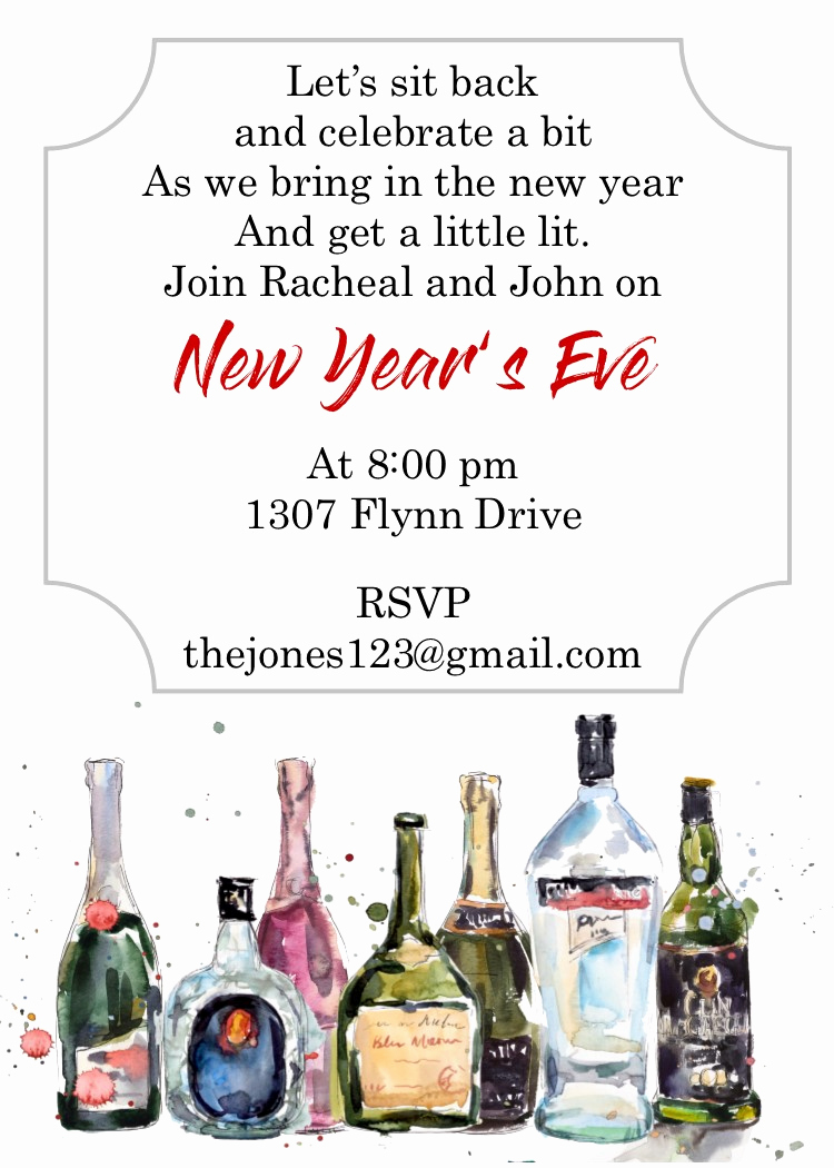 New Years Invitation 2019 Best Of New Year S Eve Party Invitations 2019