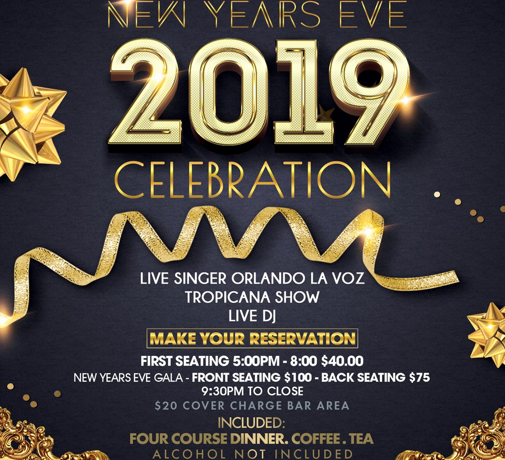 New Years Invitation 2019 Elegant New Year S Eve Party at the Cuban Garden City New York
