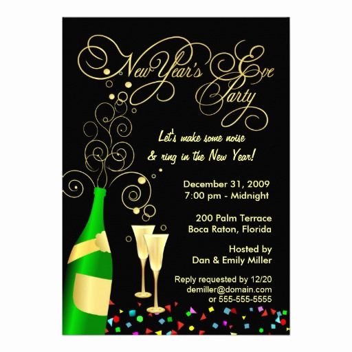 New Years Invitation 2019 Lovely 6 000 New Years Eve Party Invitations New Years Eve