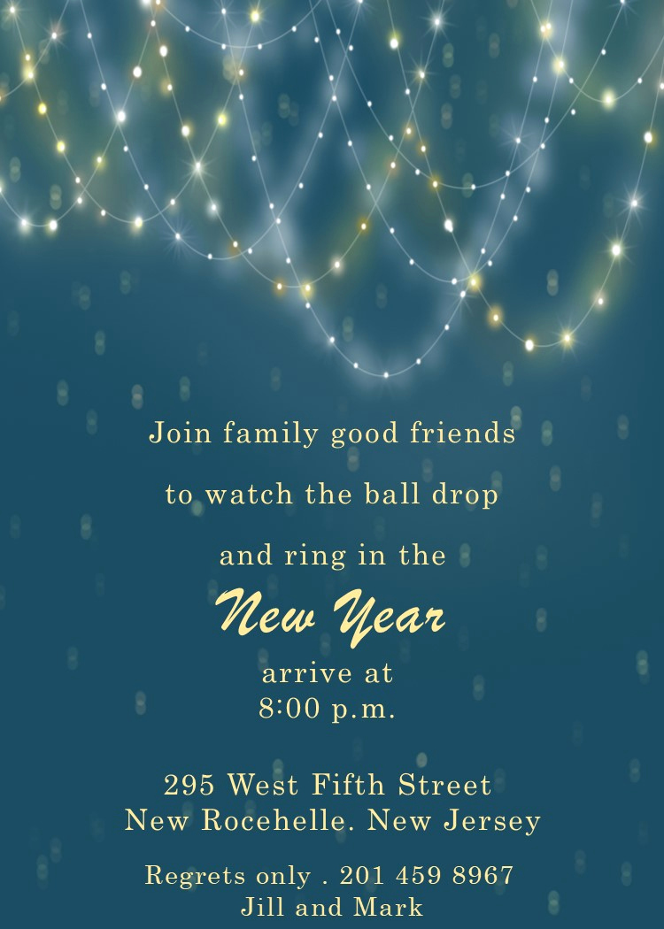 New Years Invitation 2019 New New Year S Eve Party Invitations 2019