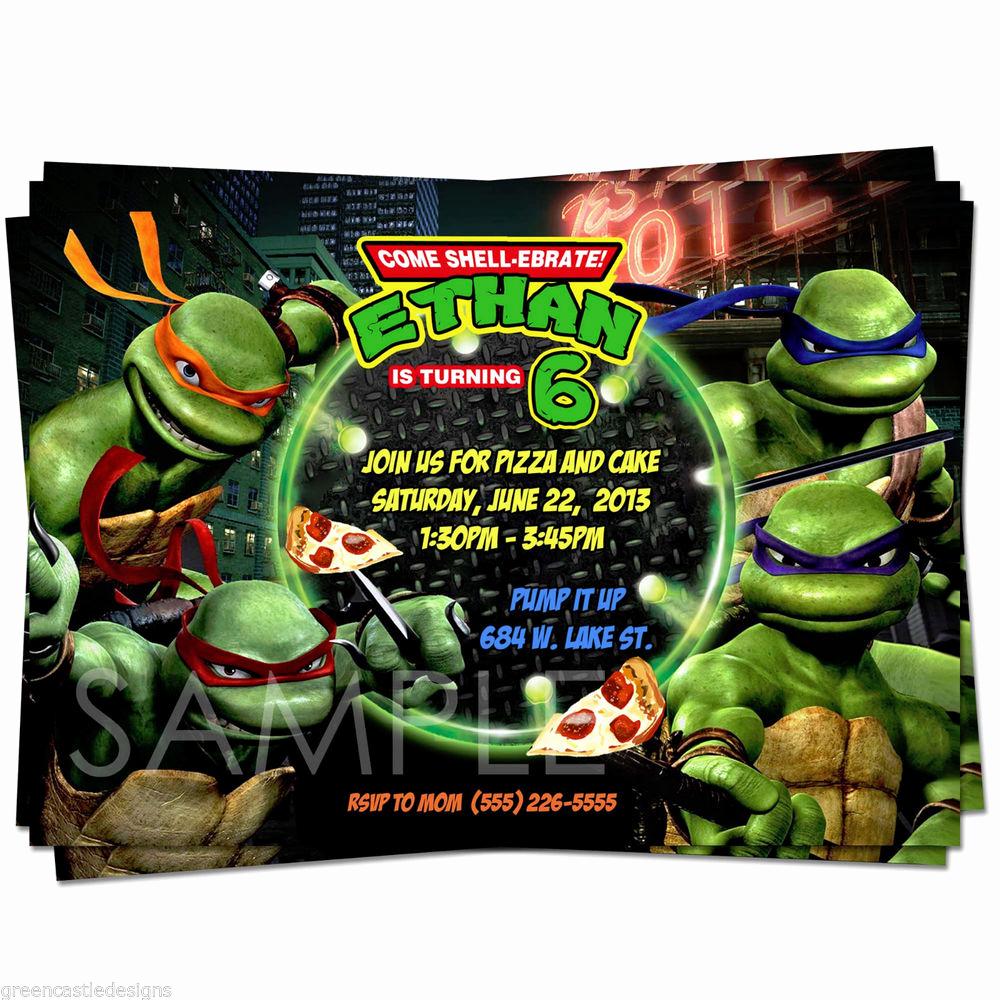 Ninja Turtle Invitation Template Free Unique Teenage Mutant Ninja Turtles Birthday Quotes Quotesgram