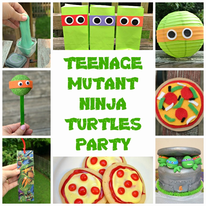 Ninja Turtles Invitation Ideas Awesome Teenage Mutant Ninja Turtles Party