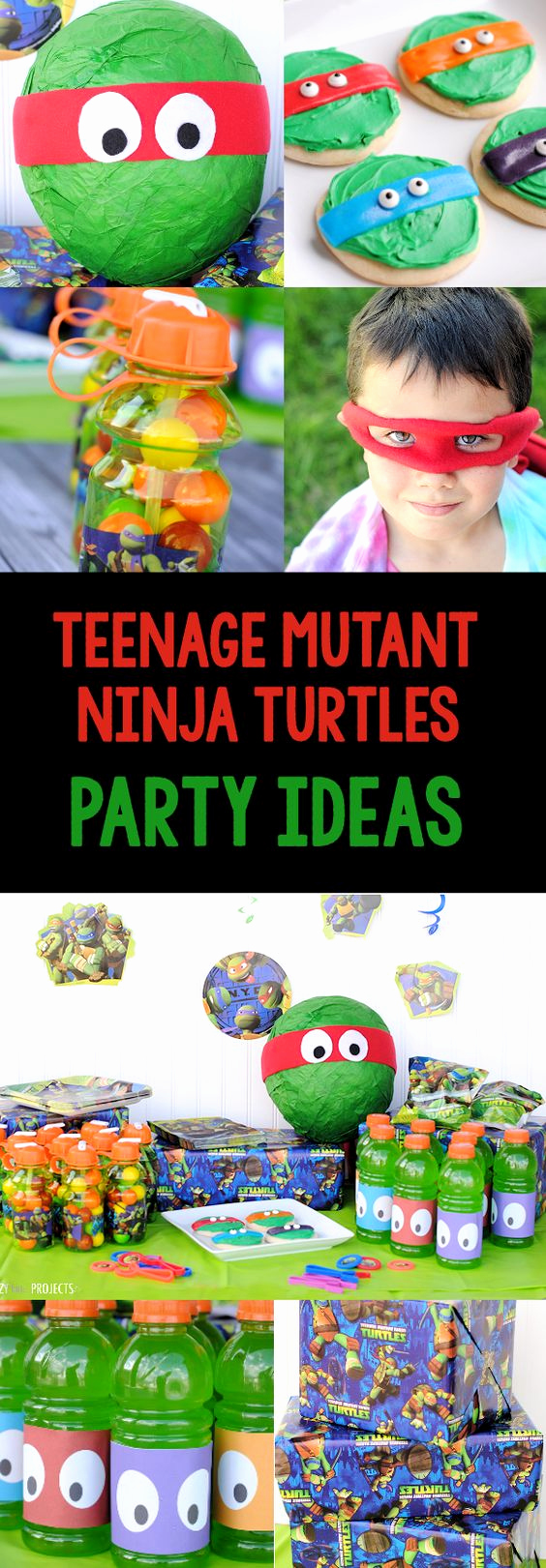 Ninja Turtles Invitation Ideas Beautiful Pinterest • the World's Catalog Of Ideas