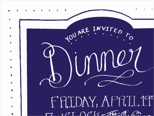 No Host Dinner Invitation Elegant 47 Dinner Invitation Templates Psd Ai