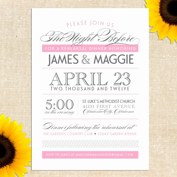 No Host Dinner Invitation Lovely 27 Best Mak S Rehearsal Dinner Invites Images On Pinterest